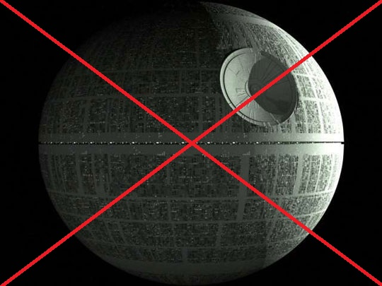 Death Star No Thank You The Monkey Cage - Death star blueprints